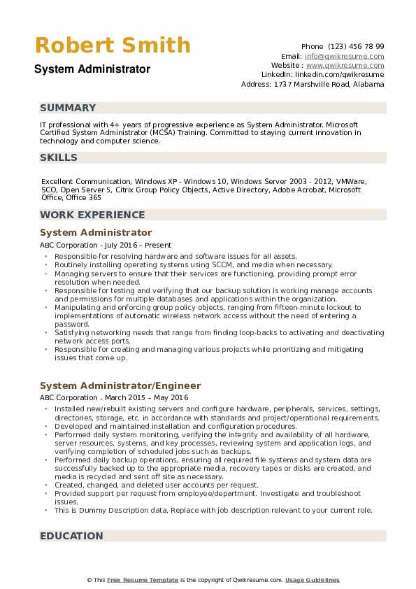 system administrator resume samples qwikresume vmware and windows admin pdf army 88m new Resume Vmware And Windows Admin Resume Samples