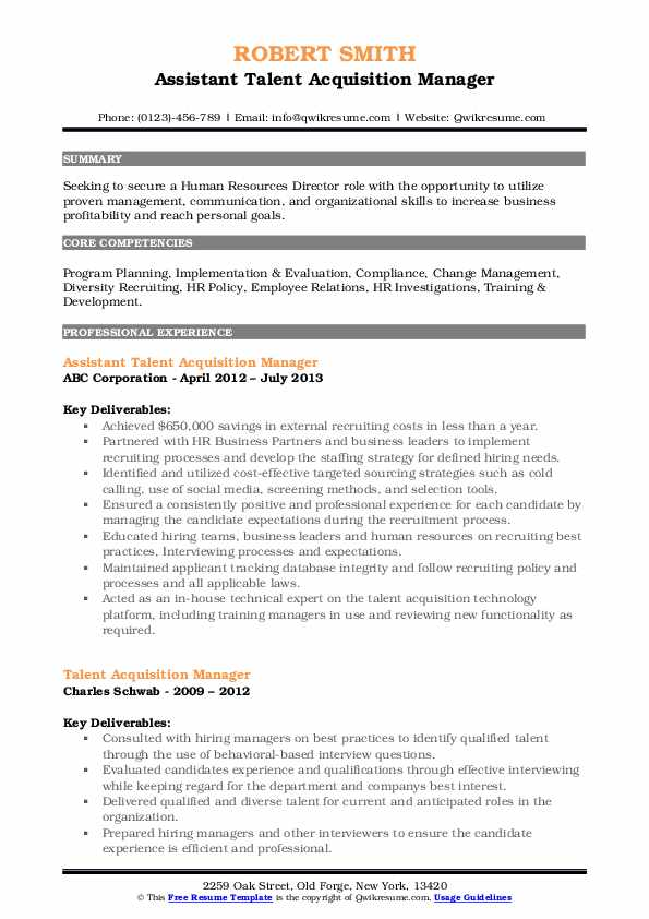 talent acquisition manager resume samples qwikresume pdf cmaa bar example best font size Resume Talent Acquisition Manager Resume