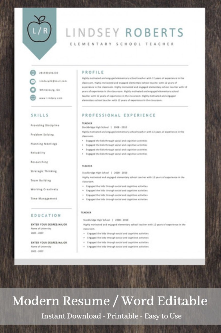 teacher resume template free addictionary editable incredible medical insurance Resume Editable Teacher Resume Template Free