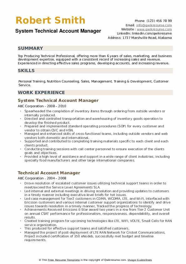 technical account manager resume samples qwikresume pdf best mechanical good sample small Resume Technical Account Manager Resume