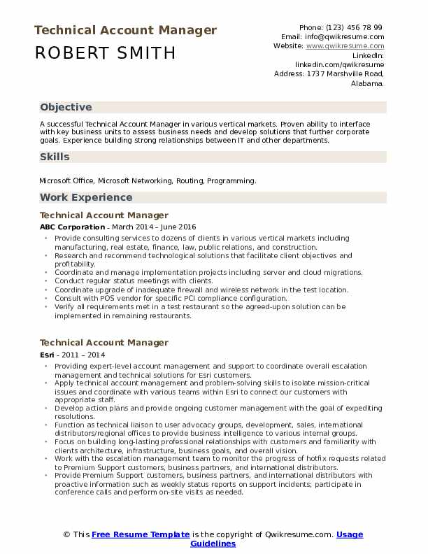 technical account manager resume samples qwikresume pdf descriptive words for career Resume Technical Account Manager Resume