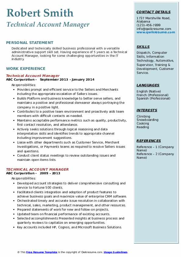 technical account manager resume samples qwikresume pdf various best mechanical cover Resume Technical Account Manager Resume