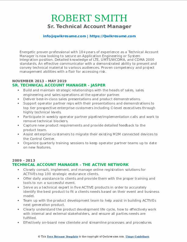 technical account manager resume samples qwikresume pdf various first year teacher small Resume Technical Account Manager Resume