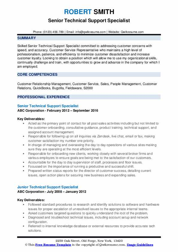 technical support specialist resume samples qwikresume pdf zoology teacher sample Resume Technical Support Specialist Resume