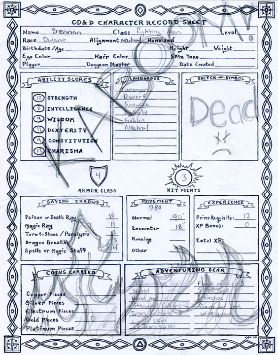 the alexandrian my favorite character sheet resume large fast food restaurant mechanical Resume D&d Character Sheet Resume