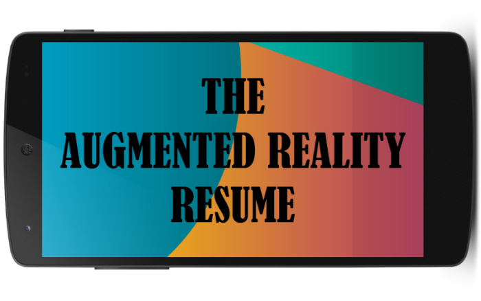 the augmented reality resume by rohit bhat at coroflot lqq52d9mcykf7a8bmfn6tqdww python Resume Augmented Reality Resume