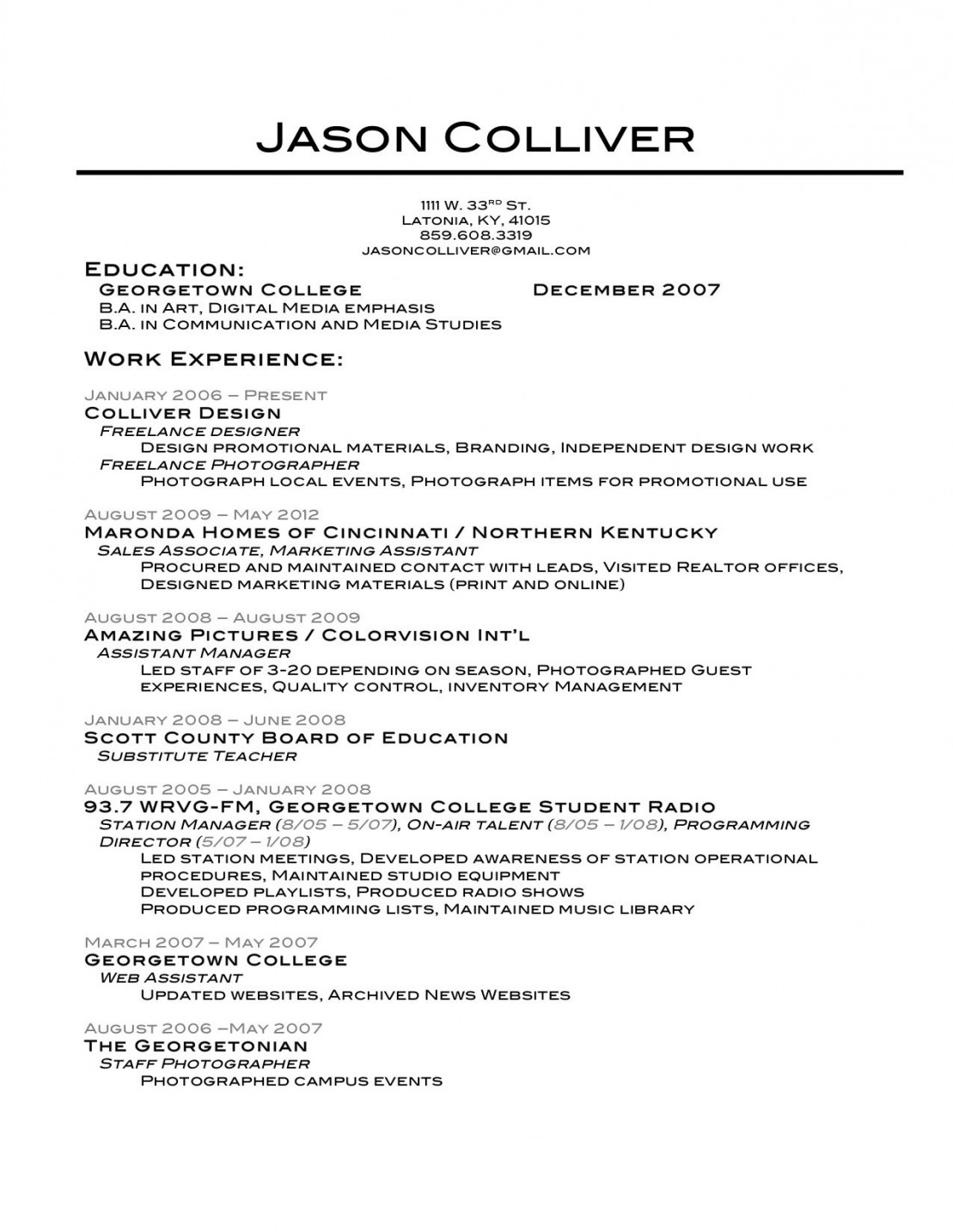 the best resume template ever builder example lovely fetching free and writing great Resume Georgetown Resume Template
