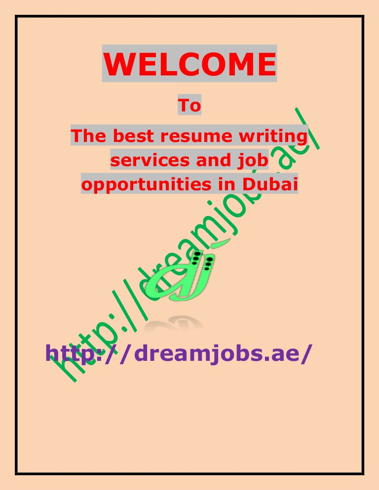 the best resume writing services and job opportunities in dubai companies thumbnail ip Resume Best Resume Writing Companies