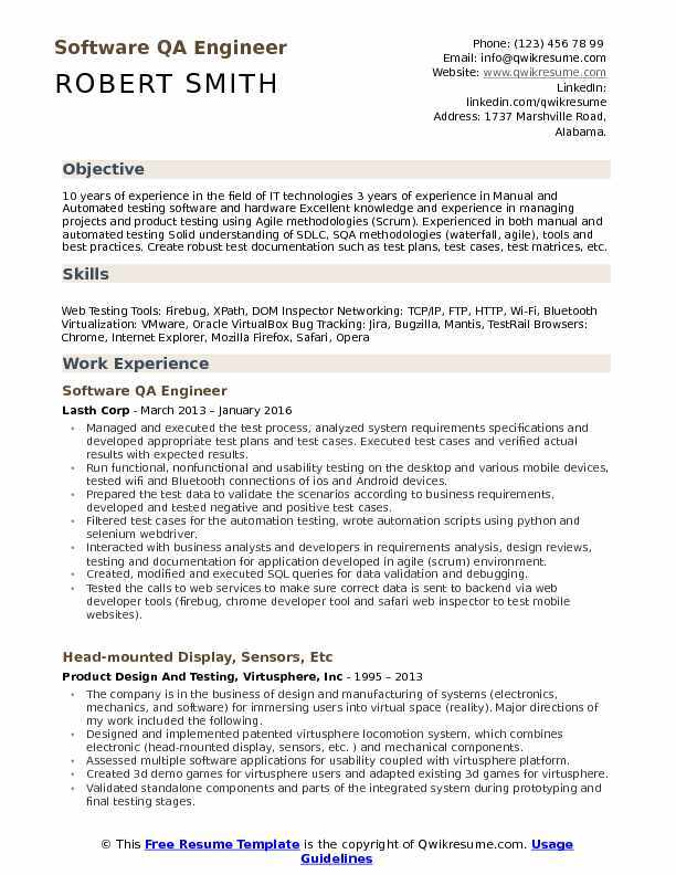 the best software engineer cv examples and templates objective for resume experienced Resume Objective For Resume For Experienced Software Engineers