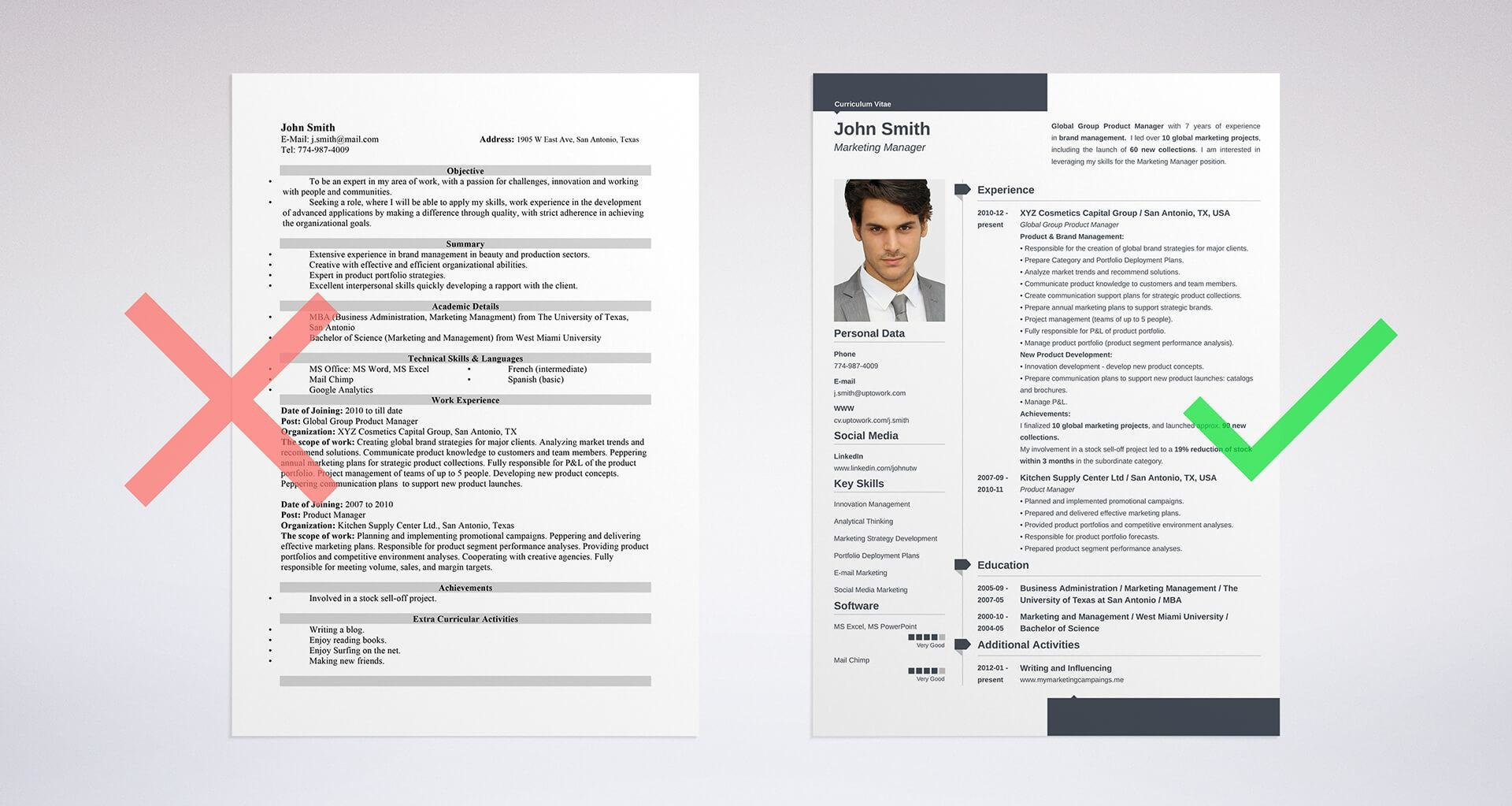 the difference between cv vs resume explained european format sample template for Resume European Resume Format Sample
