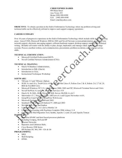 the linux administrator resume sample one in pdf microsoft exchange sharepoint pdms Resume Microsoft Exchange Administrator Resume Sample