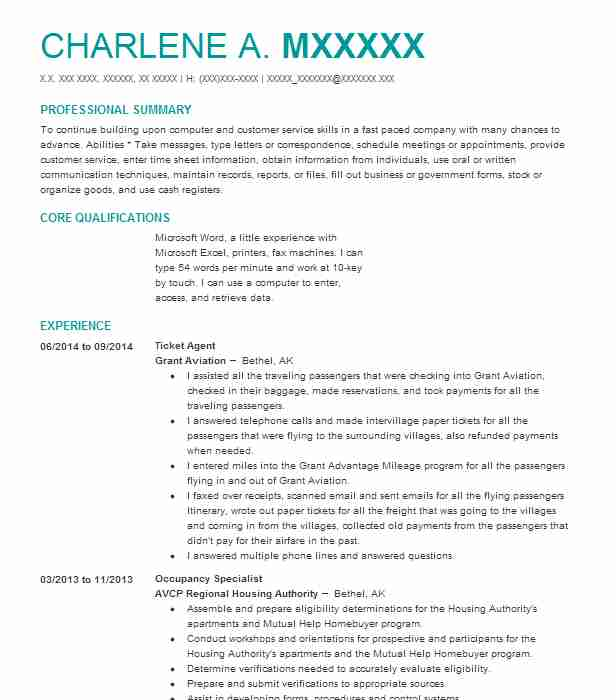 ticket agent resume example travel and tourism resumes livecareer ticketing executive Resume Ticketing Executive Resume Sample