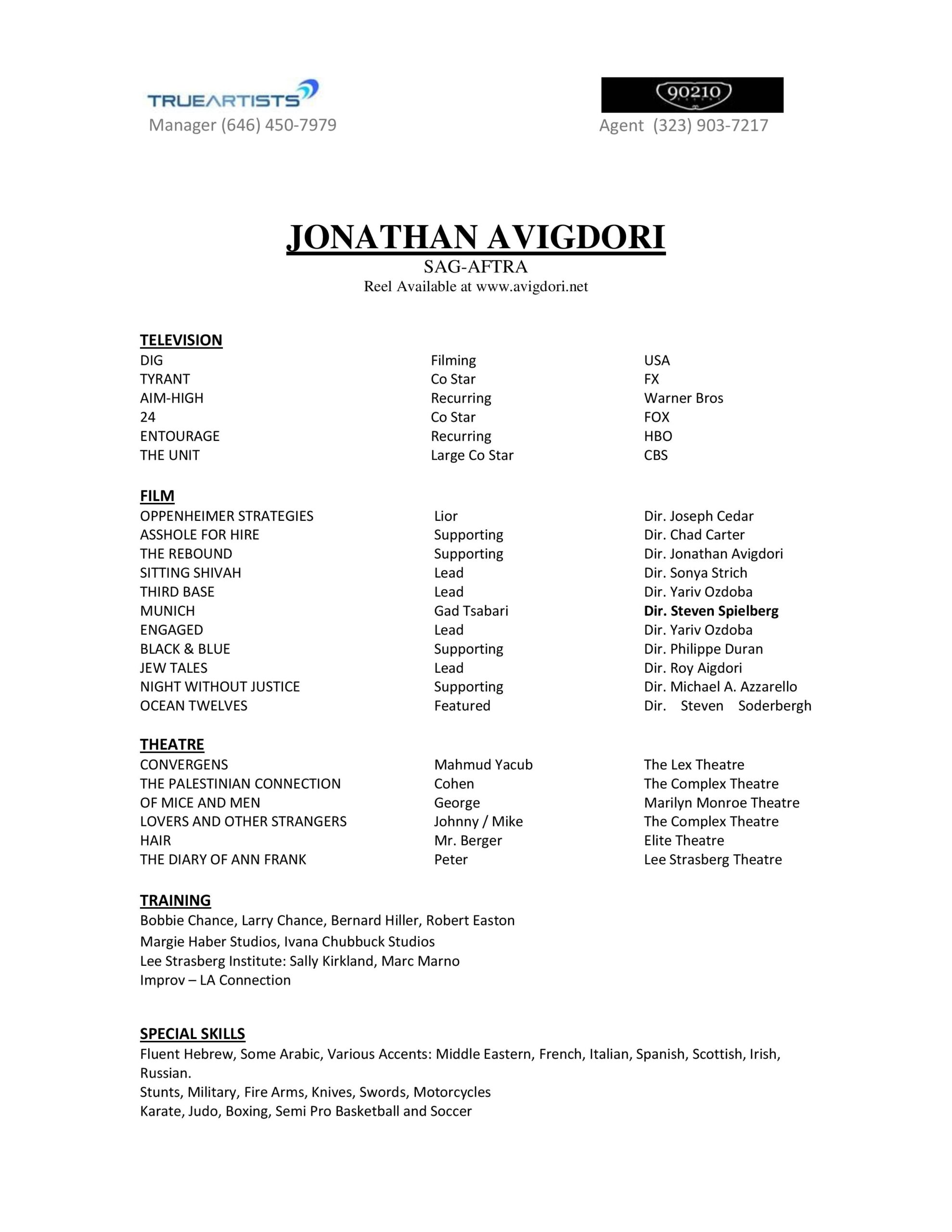 to create professional acting resume career tips advice talent theatre sample daycare Resume Professional Theatre Resume