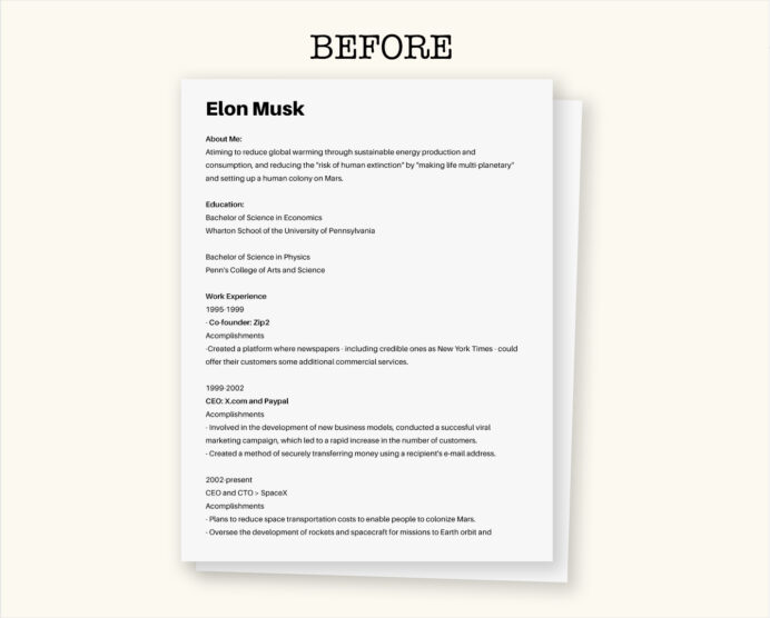 to create your own visual resume easy free business insider elon musk before core Resume Business Insider Elon Musk Resume