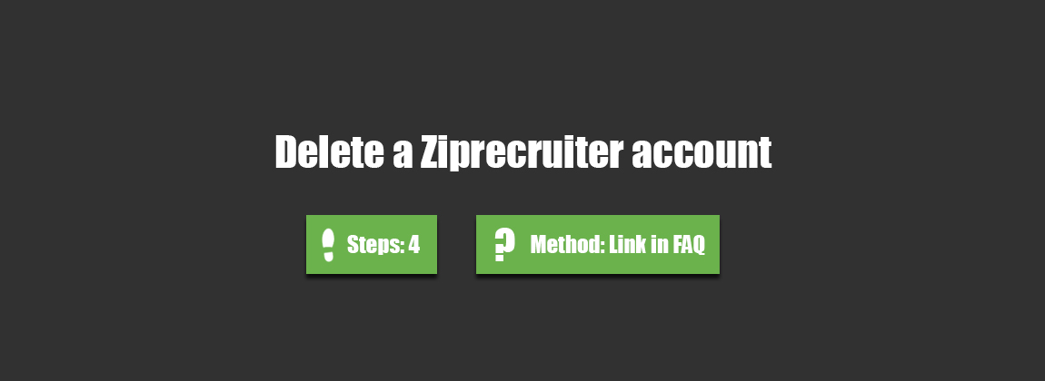 to delete ziprecruiter account accountdeleters resume professional athlete sample Resume Delete Ziprecruiter Resume
