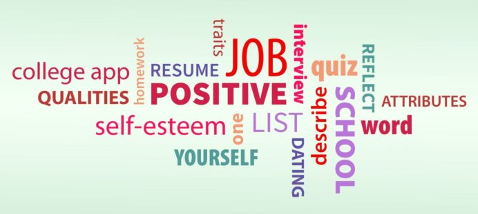 to describe yourself words for your positive qualities owlcation education resume https Resume Positive Words For Resume