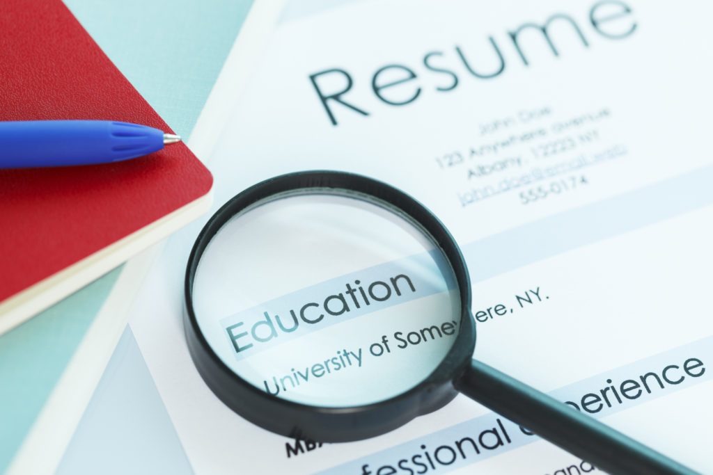 to education on resume chegg careermatch degree received featured post section 1024x683 Resume Degree Received On Resume