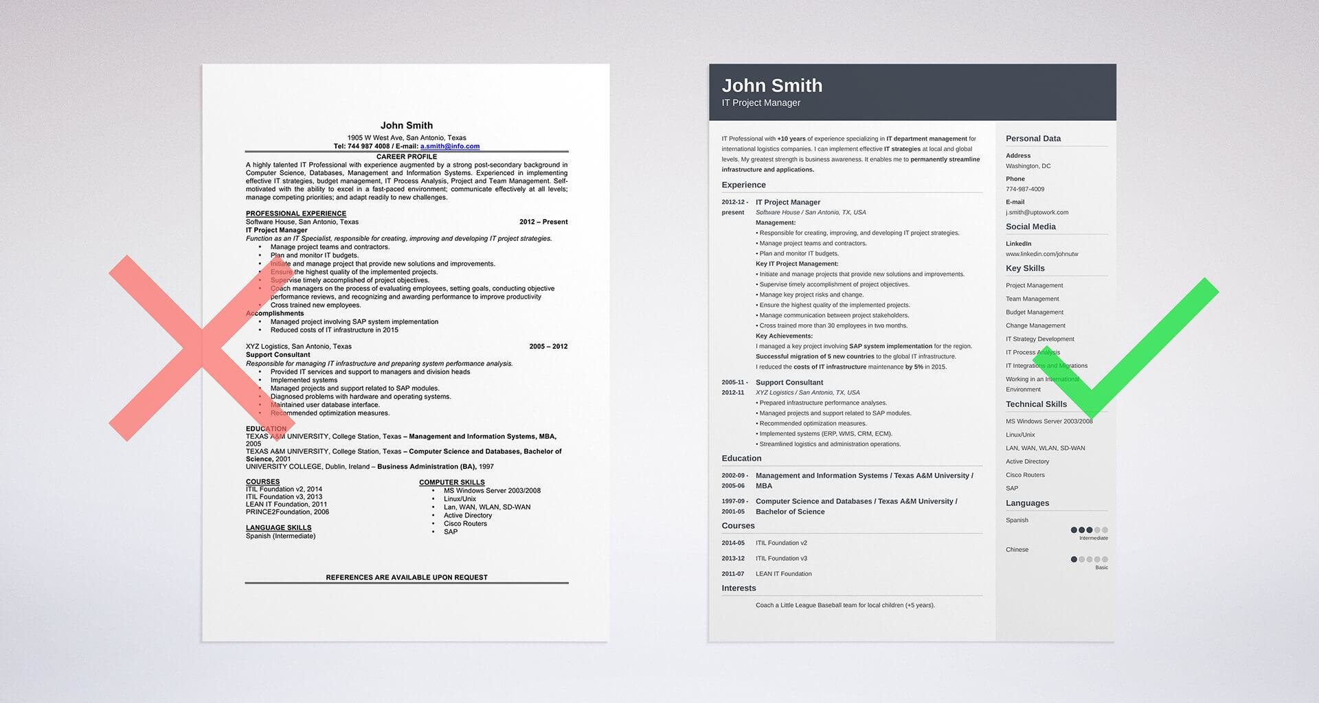 to education on resume section examples tips sample with college degree put itil logo for Resume Sample Resume With College Degree