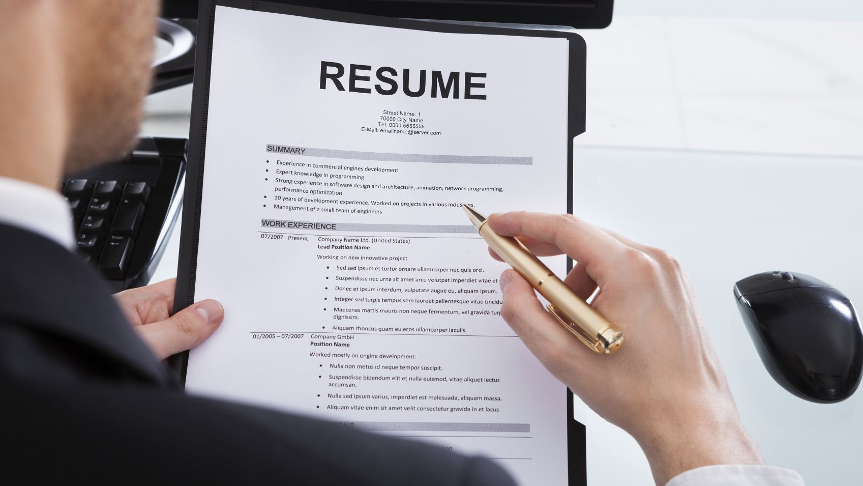 to include bullet points in resume job medium project administrator for experienced Resume Resume Job Bullet Points