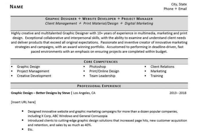 to include freelance work on resume examples and tips zipjob example 1284x874 retail Resume Freelance Work On Resume