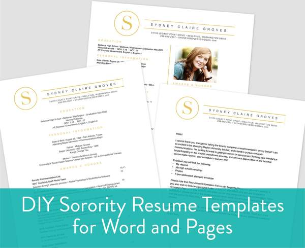 to include on sorority resume sororitypackets example grande fake information security Resume Sorority Resume Example