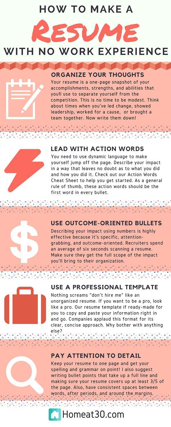 to make resume with no job experience writing services tips for making great server Resume Tips For Making A Great Resume