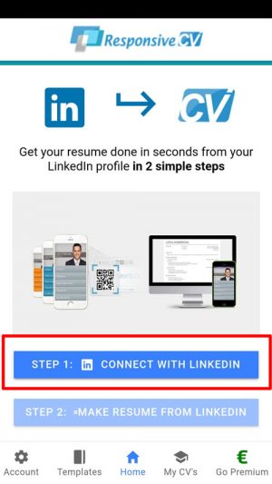 to resume from linkedin with in seconds attach on iphone connect as pdf dog trainer Resume Attach Resume On Iphone