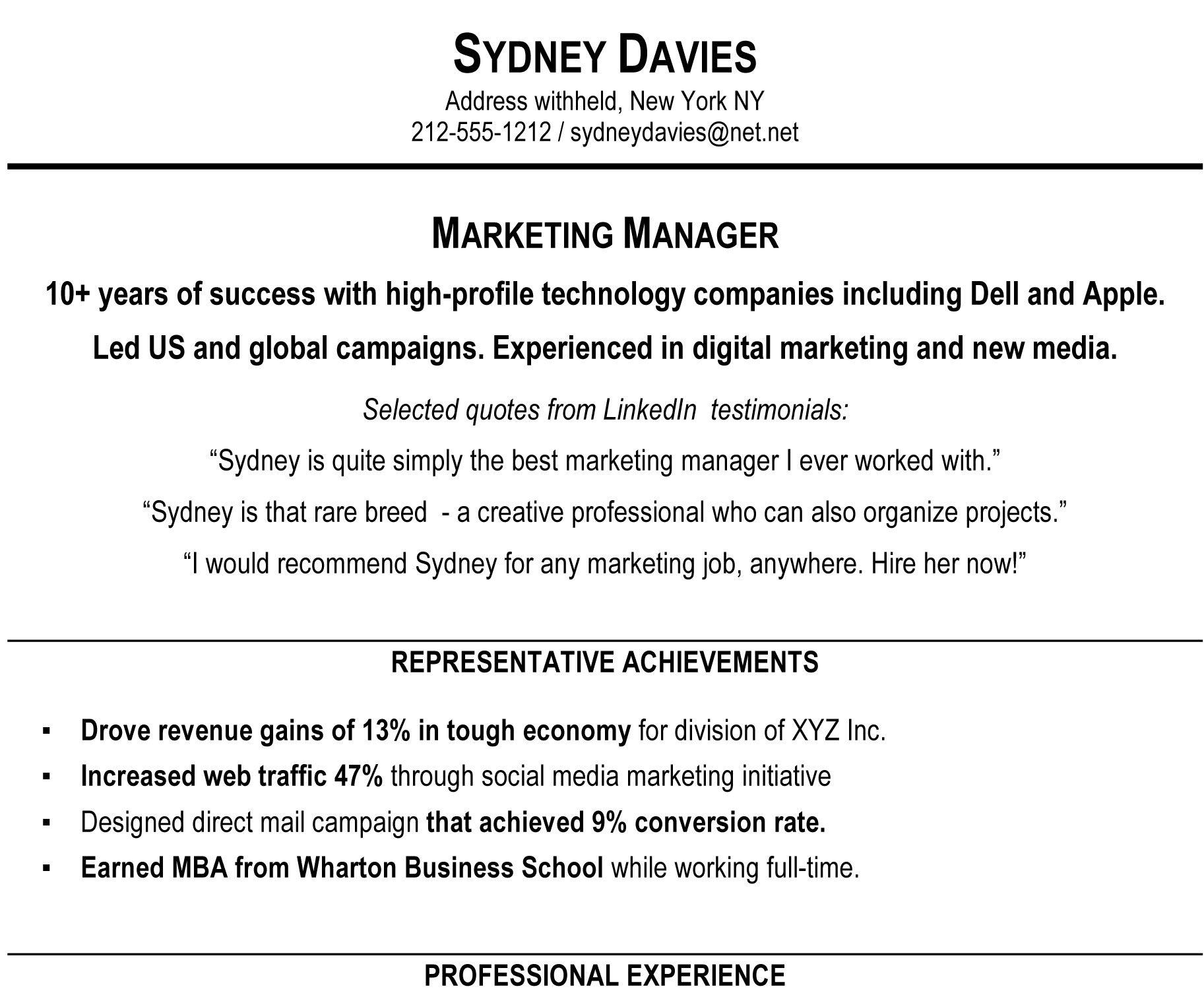 to write resume summary that grabs attention blog blue sky resumes good for sampleprofile Resume Good Summary For Resume
