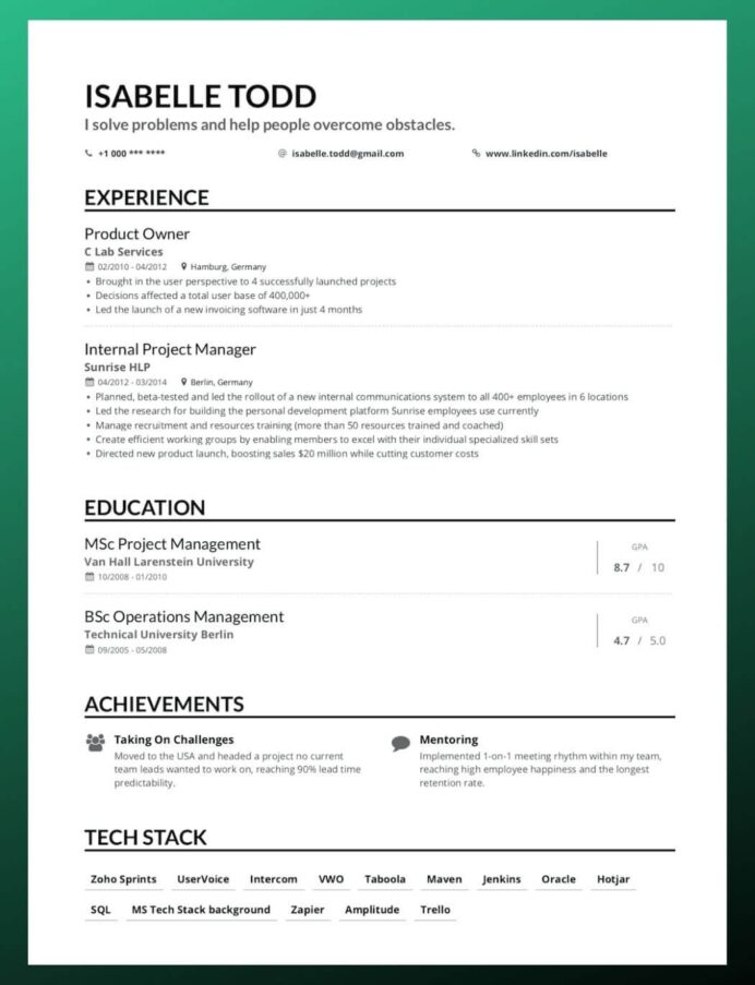 to write your first job resume making reverse chronological vendor management cover Resume Making Your First Resume