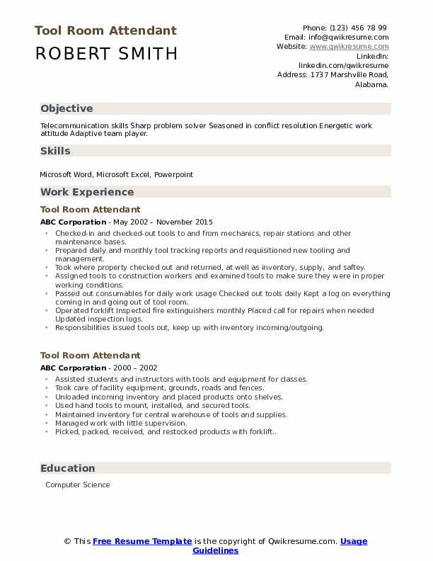 tool room attendant resume samples qwikresume another word for team player on pdf short Resume Another Word For Team Player On A Resume