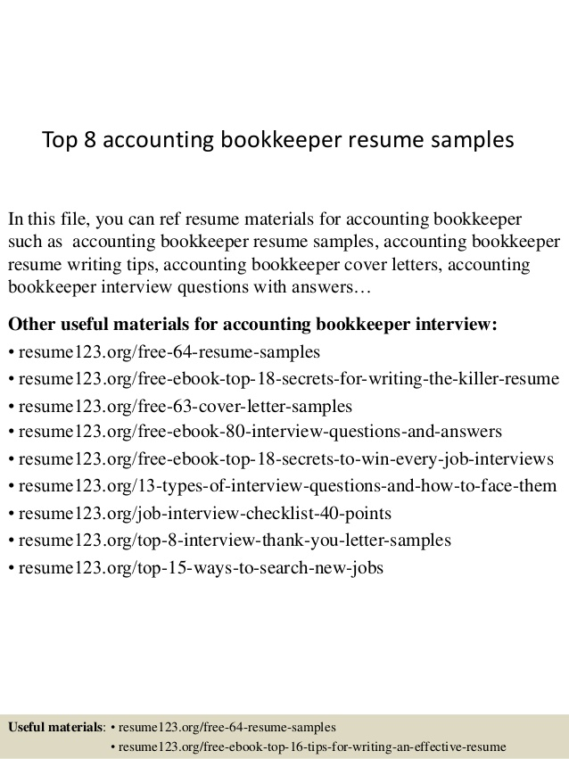 top accounting bookkeeper resume samples awesome examples indesign template reddit work Resume Bookkeeper Resume Samples