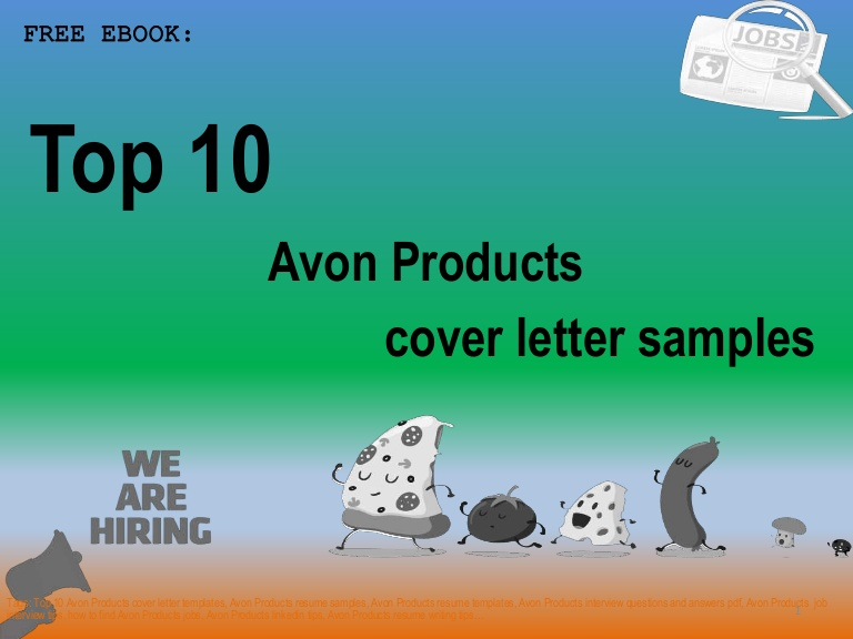 top avon products cover letter samples representative resume examples Resume Avon Representative Resume Examples