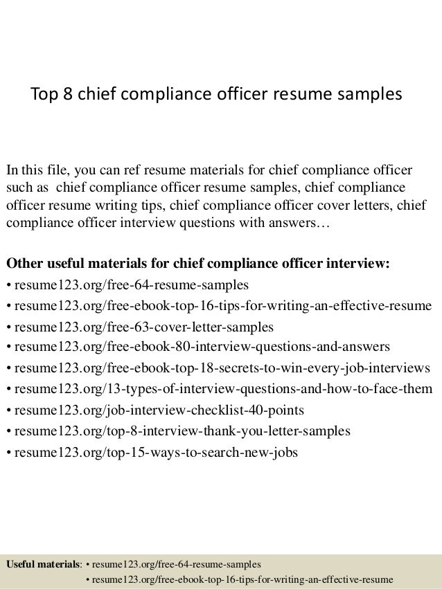 top chief compliance officer resume samples objective private housekeeper better sample Resume Compliance Officer Resume Objective