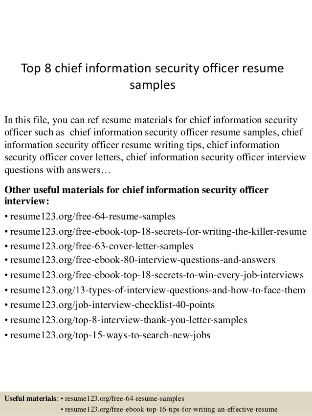 top chief information security officer resume samples examples oral surgery dental Resume Security Officer Resume Examples