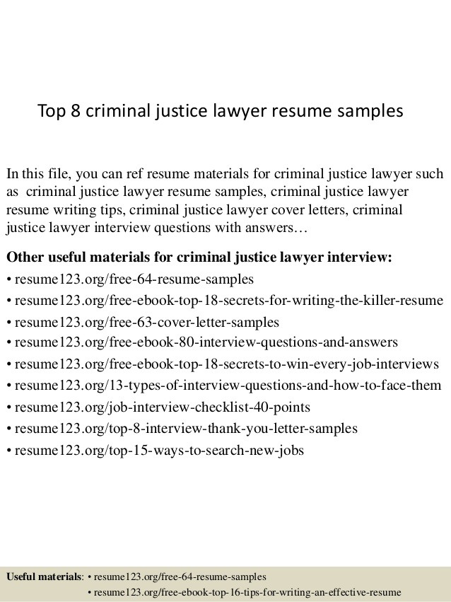 top criminal justice lawyer resume samples examples perfectionist synonym for word Resume Criminal Justice Resume Examples