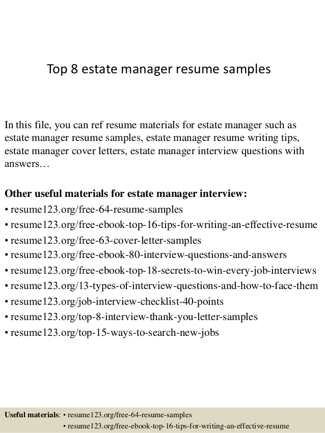 top estate manager resume samples private substitute teacher job duties for nail Resume Private Estate Manager Resume