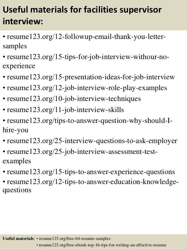top facilities supervisor resume samples sample example of construction project manager Resume Facilities Supervisor Resume Sample
