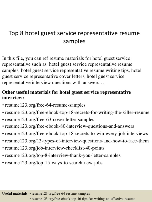 top hotel guest service representative resume samples latex professional summary of Resume Guest Service Representative Resume