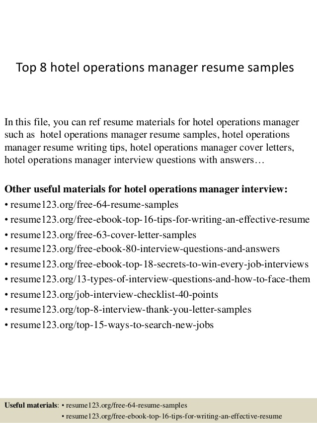 top hotel operations manager resume samples hospice liaison zety builder phone number ses Resume Operations Manager Resume