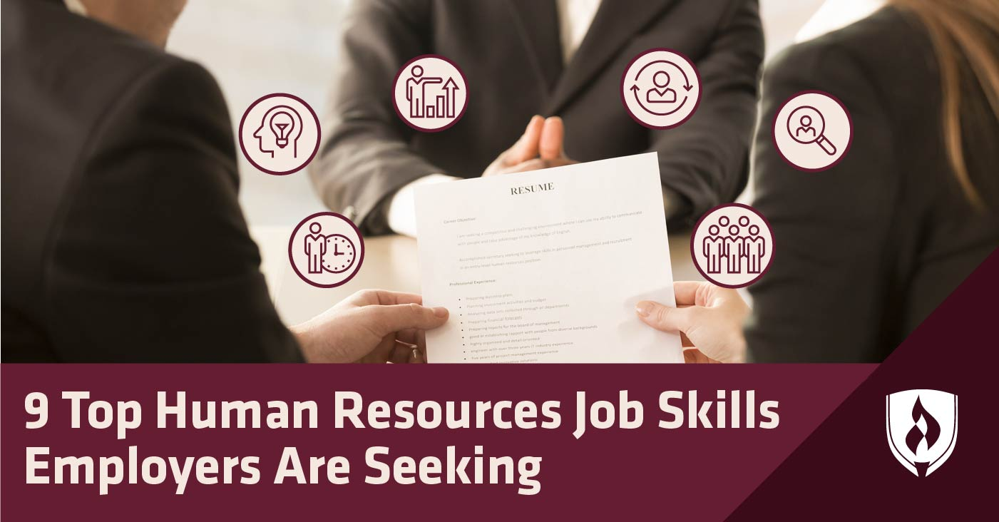top human resources job skills employers are seeking rasmussen college resume podcast Resume Human Resources Resume Skills