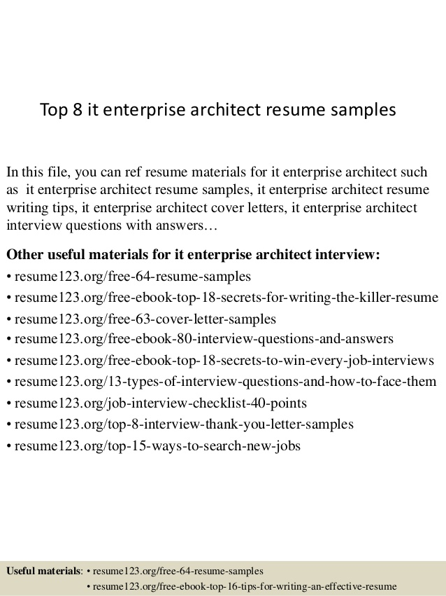 top it enterprise architect resume samples ideal length talent acquisition examples fast Resume Enterprise Architect Resume