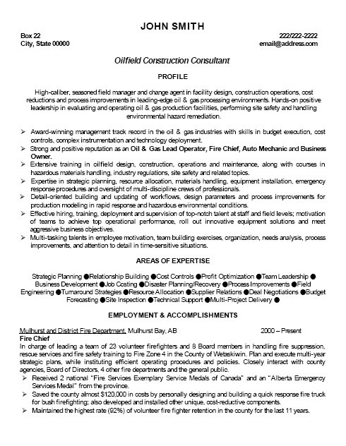 top oil gas resume templates samples objective for and og professional oilfield Resume Objective For Resume Oil And Gas