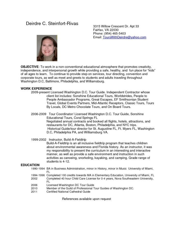 tour guide resume cover letter printable examples resumes template for description logo Resume Tour Guide Description For Resume