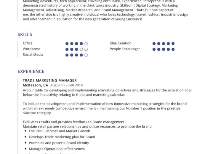 trade marketing manager resume example writing tips in year executive sample 1000x750 Resume Trade Marketing Executive Resume