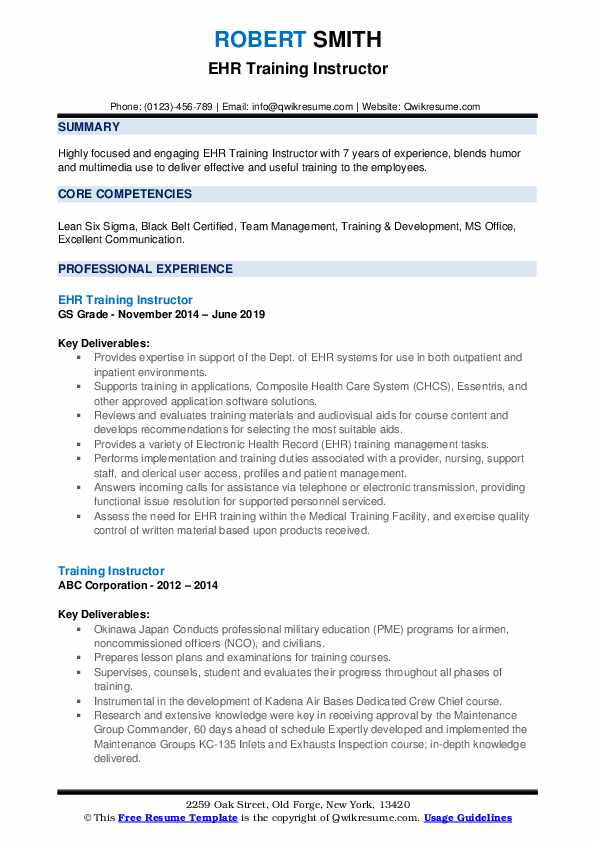 training instructor resume samples qwikresume technical pdf industrial security Resume Technical Training Instructor Resume