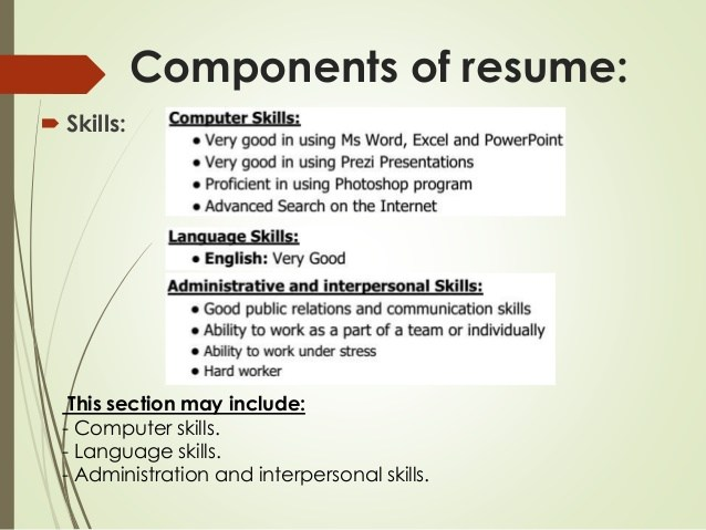 types of computer skills on resume basic knowledge for cv writing session starbucks Resume Basic Computer Knowledge For Resume