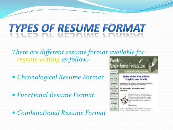 types of resume format different styles writing call warehouse forklift samples senior Resume Different Styles Of Resume Writing
