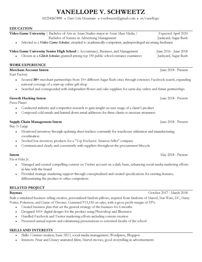 ve reviewed and screened thousands of resumes am sharing my preferred resume format free Resume Best Resume Format Reddit