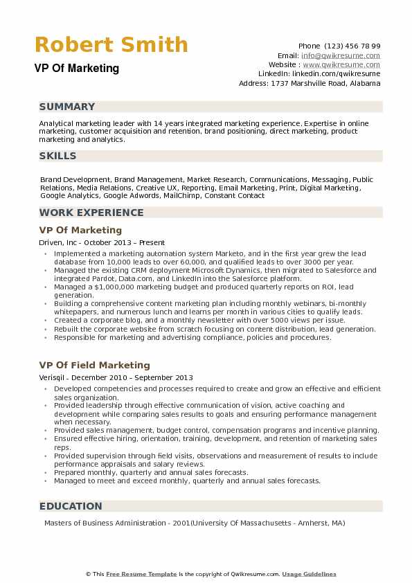 vp of marketing resume samples qwikresume communications pdf graphic designer job sample Resume Vp Communications Resume