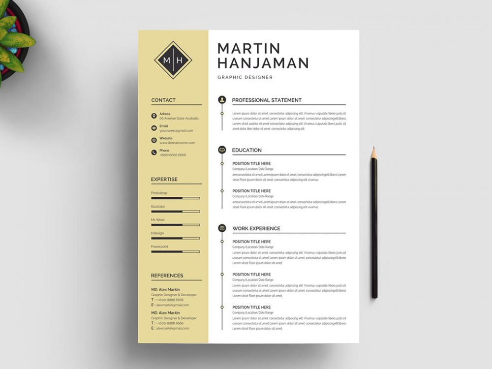 word resume template free resumekraft layout 1000x750 good self description for tips Resume Resume Layout Free Download